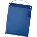 Werkordermappen, klittenbandsluiting, A5, blauw