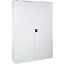 Werkplaatskast, B 1345 x D 520 mm, lichtgrijs/lichtgrijs