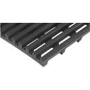 Werkplekmat Yoga Roll®, 600 mm breed, zwart