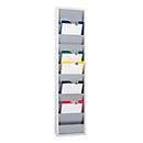 Werkstattplaner Eichner 9019-00201, einreihig, für 10 Auftragstaschen, grau