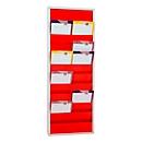 Werkstattplaner Eichner 9019-00202, zweireihig, für 20 Belege, rot