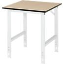Werktafel, MDF-plaat, B 750 x D 800 x H 760-1080 mm