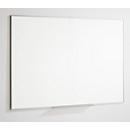 Whiteboard 84072, Stahl, cremeweiß Keramik beschichtet, magnethaftend, B 900 x H 600 mm