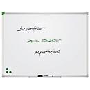 Whiteboard Franken U-Act!Line®, Hoch- & Querformat, emailliert, magnetisch, recycelbar, 1800x1200
