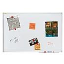 Whiteboard Franken X-tra!Line®, weiß lackiert, magnethaftend, 900 x 600 mm