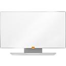 Whiteboard nobo Widescreen, staal Nano Clean, 410 x 720 mm