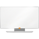 Whiteboard nobo Widescreen, Stahl Nano Clean, 410 x 720 mm