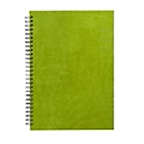 Wochenkalender Florenz, 144 Seiten, mit Wire-O-Bindung, B 180 x T 12 x H 245 mm, Werbedruck 100 x 80 mm, grün