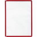 Zichtpanelen A4, 5 stuks, rood