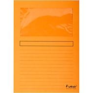 Exacompta Venstermappen Forever®, pak van 100 stuks, oranje