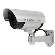 Kamera Attrappe Überwachungskamera Attrappe Olympia DC 400, mit LED Blinklicht