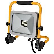 LED Baustrahler Brennenstuhl Slim, stufenlos schwenk- & arretierbar, IP 54, 30 W