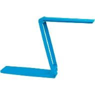 Ledbureaulamp Maul MAULzed, draadloos, touchdimmer 3-voudig, 120 lm, lichtblauw
