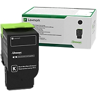 Lexmark tonercassette C2320K0 zwart, 1000 pagina's