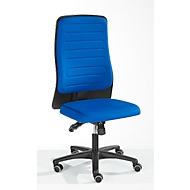 Prosedia Bürostuhl ECCON plus-8, Synchronmechanik, ohne Armlehnen, gepolstert, blau