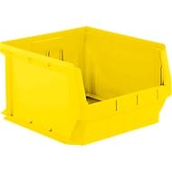 Sichtlagerkasten SSI Schäfer LF 543, PP-Kunststoff, L 500 x B 470 x H 300 mm, 57 l, gelb