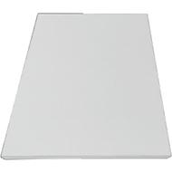 Zusatz-Fachböden für TETRIS WOOD Schranksystem, 2 Stück, Regal/Flügeltürenschrank Breite 400 mm, lichtgrau