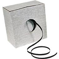 1000 m PP-kunststof omsnoeringsband 12,0 x 0,50 mm in dispenserdoos