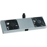 2-voudig actieve ventilatoren voor NT-box, voor verticale ventilatie, 2 ventilatoren, 230 VAC