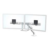 2-voudige beeldschermhouder Ergotron HX Desk Dual, tot 32 inch, in hoogte verstelbaar, tafelhouder, in hoogte verstelbaar