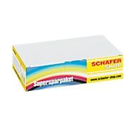 2 x Schäfer Shop inktcartridge identiek aan LC-1100BK, zwart