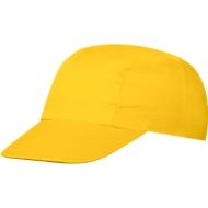 3 Panel Promo Cap,inkl. einfarbige Werbeanbringung, One-Size Größep, gold-yellow