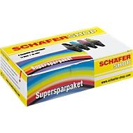 3 Schäfer Shop Tintenpatronen baugleich mit Multipack 951XL, cyan/magenta/gelb