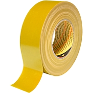 3M™ Premium Gewebe-Klebeband, 25 mm x 50 m, gelb