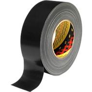 3M™ Premium Gewebe-Klebeband, 25 mm x 50 m, schwarz