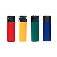 400 Feuerzeuge Maxi, mit Druck, farbl. sortiert, Standard, Auswahl Werbeanbringung erforderlich
