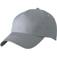 5 Panel Cap, grey