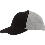 5 Panel-Cap Up to Date, schwarz/grau