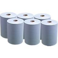 6 rollen handdoekpapier SCOTT® Slimroll, blauw