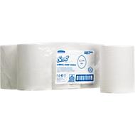 6 Rollen Handtücher SCOTT® Slimroll, weiß