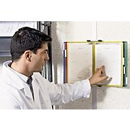 Compl. aanbieding wandhouder + 10 panelen, kleurenmix
