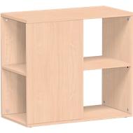 Aanbouwladeblok PALENQUE, 3 zijden open, B 400 x D 800 x H 720 mm, beuken