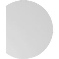Aanbouwtafel TARA, boog, B 1000 x D 800 x H 720 mm, lichtgrijs