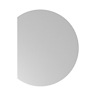 Aanbouwtafel ULM, links of rechts, B 800 x D 1000 x H 650 - 850 mm, lichtgrijs