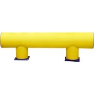 Aanrijdbeveiliging beschermbeugel enkele railing Type D, l 1000 mm