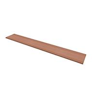 Abdeckplatte PHENOR, breit, H 30 x B 2580 x T 430 mm, Nuss Canaletto-Design
