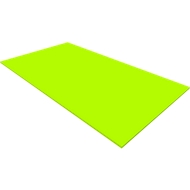 Abdeckplatte QUANDOS BOX, B 1000 x T 440 x H 8 mm, Limone