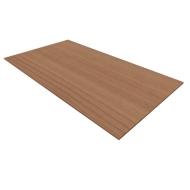 Abdeckplatte SOLUS PLAY, f. Regale u. Schränke SOLUS PLAY, B 800 x T 440 mm, Kirsche Romana