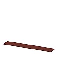 Abdeckplatte X-TIME-WORK, breit, B 2580 mm, Wenge-Dekor