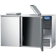 Abfallkühler für 1x 120 Liter, Edelstahl