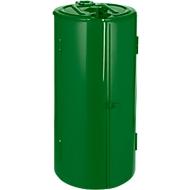 Abfallsammler, 120 l, grün