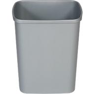 Abfallsammler Probbax, 25 l Volumen, rechteckig, Polypropylen, grau
