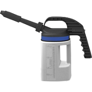 Abfüllkanne, Polyethylen, mit Auslauf kurz/lang, 2 l Volumen