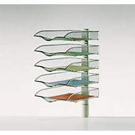 Ablagekorb CopySwinger, DIN A4, 5 Fächer, lichtgrau