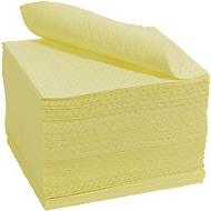 Absorberende doekjes BASIC heavy, bijzonder chemicaliën absorberend, 400 x 500 mm