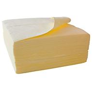 Absorberende doekjes FIRST light, absorbeert chemicaliën, absorptiecapaciteit 139 l, 400 x 500 mm, 200 stuks